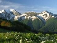 Горы Кавказского заповедника