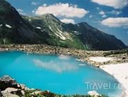 Озеро в Кавказском заповеднике