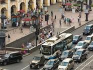 Движение по Невскому проспекту
