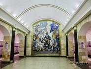 "Панно на станции метро ""Адмиралтейская"""