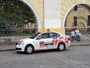 Автомобиль городской службы такси 068