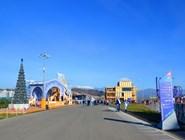 Резиденция Деда Мороза в Олимпийской деревне-2014