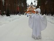 Встреча зимы по дороге к дому Деда Мороза
