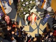 Фотосессия с Дедом Морозом в тронном зале