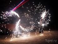 """Новогодний фейерверк на курорте """"Красное озеро"""""""