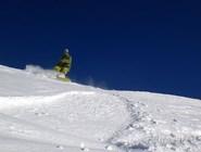 Сноубординг на Домбае