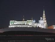 Казанский кремль в праздничном освещении