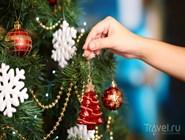 Урашение новогодней ёлки