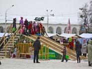 Новогодние гуляния в Костроме