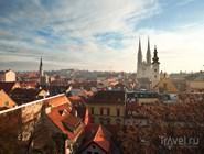 Загреб, центр города