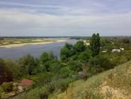 Река Ахтуба у Волжского