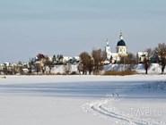 Вид на Урюпинск с озера Подпесочного