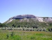 Гора Кобылья голова в природном парке Донской