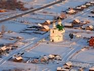 Храм в селе Преображенка