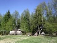 Парк в селе Казым