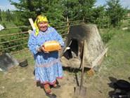 Выпеченный в традиционной печи хлеб