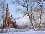 Заснеженный Тобольск
