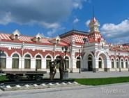 Старое здание железнодорожного вокзала