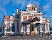 Императорский павильон железнодорожного вокзала Нижнего Новгорода