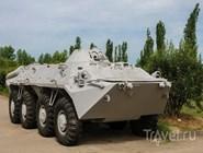 БТР - Т 70 в музее в Парке Победы