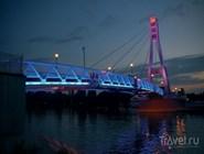 Пешеходный мост в парк 30-летия Победы