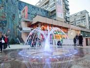 В жарком Краснодаре много фонтанов