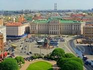 Мариинский дворец и Исаакиевская площадь