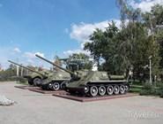 Военная техника в Парке патриотов
