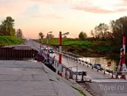 Понтонный мост в Воронеже