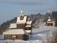 "Музей ""Хохловка"" зимой"