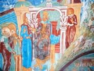 Фрески в Никольской церкви