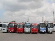 Автобусы на автовокзале