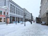 Улица Баумана зимой