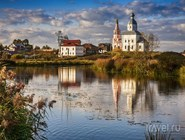 Ильинская церковь на берегу Каменки