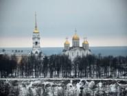 Вид на Успенский собор Владимира