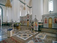 Внутри храма Александра Невского