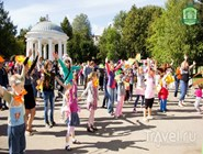 Праздник в парке имени Горького