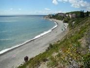 Пляж в урочище Широкая Балка