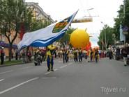 Праздничное шествие в День города