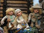 """Куклы """"Музыканты"""", автор Татьяна Калинина, из экспозиции """"Дома куклы"""""""