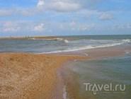 Пляж рядом с Ейском