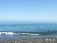 Пляж в Хостинском районе