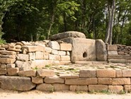 Древний дольмен неподалеку от Геленджика