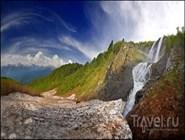 Окрестности водопада Поликаря