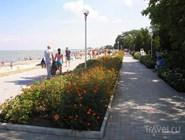Пляж в Приморско-Ахтарске
