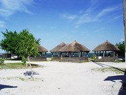 Турбаза на пляже в Приморско-Ахтарске