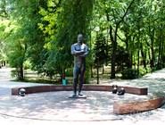 Памятник Ивану Поддубному в Ейске