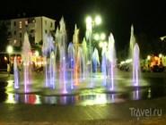 Плоский светодинамический фонтан