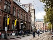 Город во время фестиваля Amsterdam Dance Event