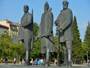 Фрагмент монумента Ленину